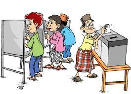 1.pemilu karikatur